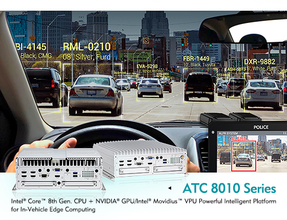 Cutting Edge In-Vehicle Computing Now a Reality with the ATC 8010 AI Edge PC