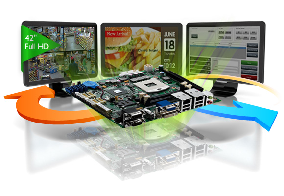 Embedded Computer Streams Videos to Big Screen in An Instant