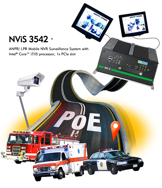 PoE Integrated NViS 3542 Series Excels at Mobile NVR